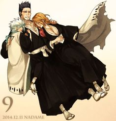 I so badly want to see these three reunite!! I wanna see Isshin's reaction to Toshiro becoming a captain.