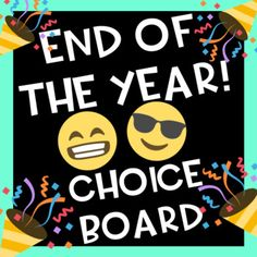 This choice board is perfect to wrap up the end of the year! Just print this board and the students are ready to engage in activities where they will remember the school year and think about the summer vacation. This file include a choice board with 9 different activities for students to complete.