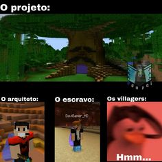 Memes Br, Funny Memes, Jokes, Minecraft Memes, Youtubers, Haha, Random, Anime, Minecraft Jokes