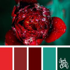 25 Color Palettes Inspired by the Pantone Spring 2018 Color Trends NY and London Color Schemes Colour Palettes, Spring Color Palette, Colour Pallette, Spring Colors, Color Trends, Pantone Verde, Red And Teal, 2018 Color, Teal Colors