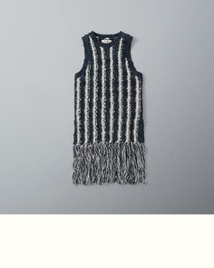 Supersoft and pretty knit with fringe trim, Imported | US$48 | Store Item: 150-490-0723-224 / Web Item: 121920