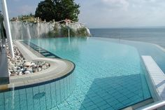 Thermalbad in Meersburg am Bodensee / Thermal bath in Meersburg at the Lake Constance.
