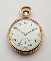 1920s Record stem-winding pocket watch