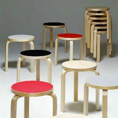 Could really use my own Alvar Aalto stool for computering.