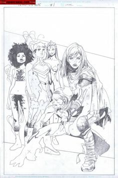 Generation Hope #1 - Hope Summers by Olivier Coipel *