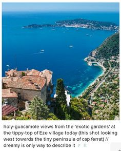 Eze, in the south of France.