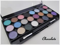 MUA Shade Immaculate Collection Eyeshadow, Shades, Pretty, Beauty, Collection, Pallet, Eye Shadow, Beleza, Shutters