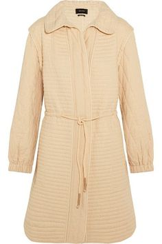Isabel Marant - Boyd Quilted Cotton Coat - Ecru - FR