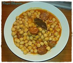 Garbanzos con Chorizo Olla GM