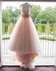 Romantic A Line Sweetheart, Long Tulle Prom/Wedding Dress