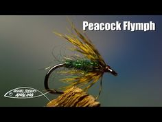 I never get tired of tying and swinging soft hackle flies, and the Peacock Flymph is as simple as it gets. A pinch of dubbing and a soft webby hackle is all you need. The dubbing can be substituted with real peacock herl, which is beautiful... but slightly more fragile.