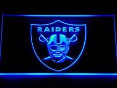 Oakland Raiders LED Light Sign