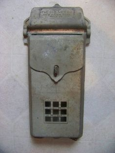 Antique mailbox