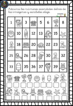 1st Grade Math Games, First Grade Worksheets, Kindergarten Math Worksheets, Preschool Learning Activities, School Worksheets, Preschool Curriculum, Preschool Math, Maths Exam, Grande Section