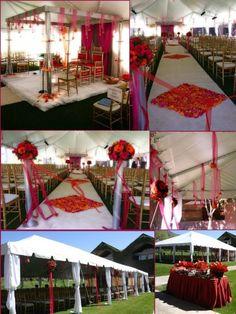 Wonderful Outdoor Wedding Decor - Wedding Fuz   Wedding Fuz