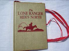 Lone Ranger Book Bag by GoodGirlThreads on Etsy, $25.00