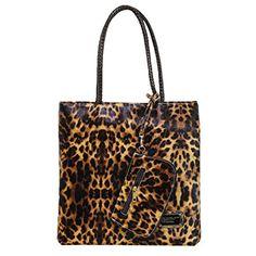 La moriposa Women's Chic Leopard Design Handbag Tote Bag(Deep leopard) >>> More info could be found at the image url.