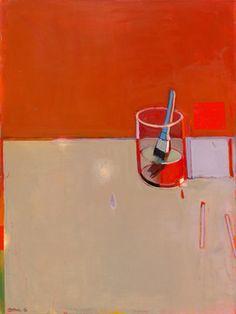 Raimonds Staprans, 'Red Still Life with a Brush,' 2013, Hackett   Mill