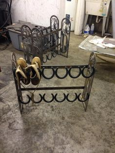 Custom Boot/shoe Rack
