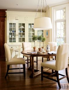 Traditional Dining Room by Timothy Corrigan Inc. in Lake Forest, Illinois