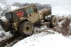 #Jeep in mud & snow