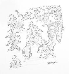 Sempé | Galerie Martine Gossieaux