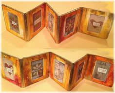 Slide Mount Accordion Book Tutorial by Gretchen Miller - Creativity in Motion