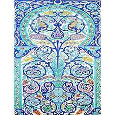 Decorative Tiles Fair Arabesquestyle Wall Decor 28Tile Ceramic Muralarts Exotiques Decorating Inspiration
