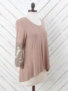 Altar'd State Touch of Lace Top