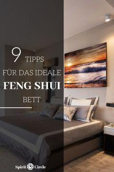 Feng Shui Schlafzimmer Einrichten  Farbe   Wandfarbe  Feng Shui Bett   Feng  Shui Schlafzimmer