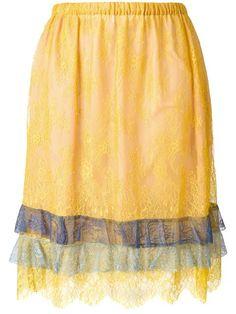 PHILOSOPHY DI LORENZO SERAFINI Lace Skirt. #philosophydilorenzoserafini #cloth #skirt