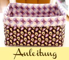 Sewing Utensilo - Instructions knitting for beginners knitting . Sewing Utensilo – Instructions knitting for beginners knitting ideas Sewing Projects For Beginners, Knitting For Beginners, Sewing Hacks, Sewing Tutorials, Sewing Tips, Sewing Baskets, Free Sewing, Hand Sewing, Diy Tutorial