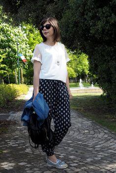Quelques conseils pour adopter le pantalon fluide avec Sweety_Mely (7€ #babou)