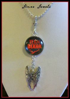 Check out this item in my Etsy shop https://www.etsy.com/listing/243846845/team-dixon-necklace-inspired-by-the