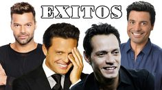 CHAYANNE, MARC ANTHONY, RICKY MARTIN & LUIS MIGUEL EXITOS Mix Sus Mejore...
