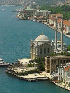 Ortaköy Mosque, Beşiktaş / İstanbul. By nzf.                                                                                                                                                      More