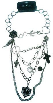 Mixit Gothic Collage Multichain & tone Necklace 15