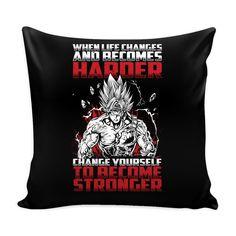 "Super Saiyan Bardock become stronger Pillow Cover 16"" - TL00474PL"