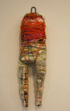 IMG_0992 on Flickr. Textile Sculpture, Soft Sculpture, Textile Art, Sculptures, Textiles, Voodoo Dolls, Totems, Outsider Art, Fiber Art