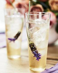 Earl grey lavendar iced tea.
