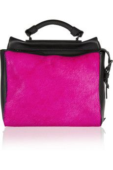 3.1 Phillip Lim Ryder small two-tone leather and calf hair satchel | £816.67