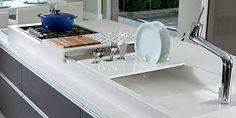 Resultado de imagem para bancadas de corian para cozinha