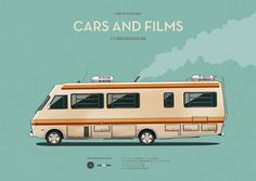 Breaking Bad (2008– 2013) ~ Minimal TV Series Poster by Jesus Prudencio ~ Cars and TV Shows