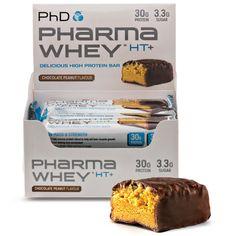 PhD Nutrition Pharma Whey HT+ Bars | PhD Nutrition - Official Trade Sports Nutrition Distributor | Tropicana Wholesale