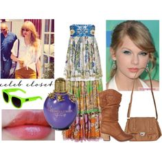 Talor Swift Celeb Closet, created by juliaschloegirl on Polyvore