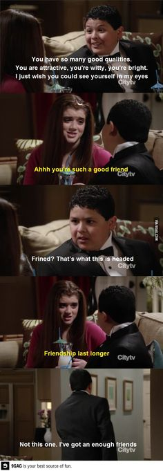 Not everyone gets himself friendzoned