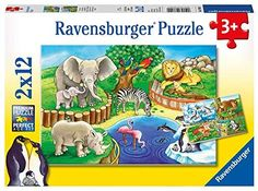 Ravensburger Puzzle - Animals In The Zoo Zoo 2, Ravensburger Puzzle, Happy Animals, Zoo Animals, Paw Patrol, Aqua Doodle, Samurai, Puzzles, Lego