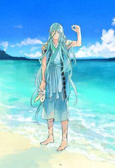 DhfyrhdUEAA8OtH Boy Character, Character Concept, Character Design, More Cute, Touken Ranbu, Katana, Anime Guys, Otaku, Cool Designs