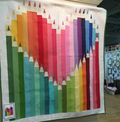 Seriously..I think it needs stitches.: Color Outside the Lines Quilt