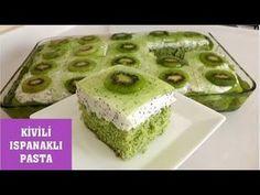 Kivili Ispanaklı Pasta  Çok hafif ve lezzetli bir pasta Selma'nın Mutfağı - YouTube